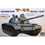Russian T-55 (Model 1958) - Trumpeter 1/35