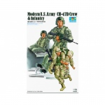 Modern US Army CH-47D Crew & Infantry - Trumpeter 1/35