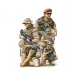 German ISAF Soldiers in Afghanistan - Trumpeter 1/35