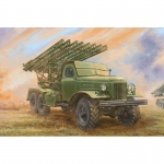 Soviet 2B7 Multiple Rocket Launcher BM-13 NM - Trumpeter...