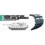 German Type 570P DIEHL Workable Track Links for Leopard...