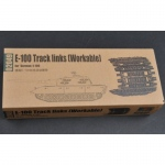 E-100 Workable Track Links - Trumpeter 1/35