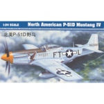 P-51D Mustang IV - Trumpeter 1/24