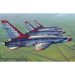 F-100D in Thunderbirds Livery - Trumpeter 1/48