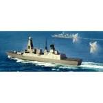 HMS Type 45 Destroyer - Trumpeter 1/350