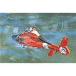 US Coast Guard HH-65C Dolphin Helicopter - Trumpeter 1/35