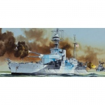 HMS Roberts Monitor - Trumpeter 1/350