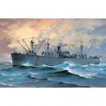S.S. Jeremiah OBrien Liberty Ship - Trumpeter 1/700