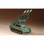Russian SAM-6 antiaircraft missile - Trumpeter 1/72