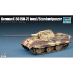 German E-50 (50-75 tons) Standardpanzer - Trumpeter 1/72