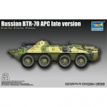 Russian BTR-70 APC late version - Trumpeter 1/72