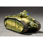 French Char B1 - Trumpeter 1/72