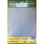 HIPS 0,3mm plastic sheet(210mmx300mmx2pc
