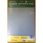 HIPS 1,0mm plastic sheet(210mmx300mmx2pc