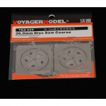 36.0mm Disc Saw Coarse