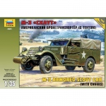 M3 Armored Scout Car (w. Canvas) - Zvezda 1/35