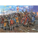 English Knights of the 100 Years War - Zvezda 1/72