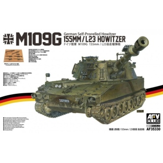 M109G German Self-Prop. 155mm/L23 Howitzer - AFV Club 1/35