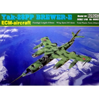 Yak-28PP Brewer-E (ECM-Aircraft) - Bobcat 1/48