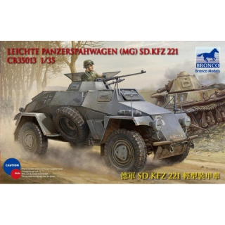 Sd.Kfz. 221 (MG) - Bronco 1/35