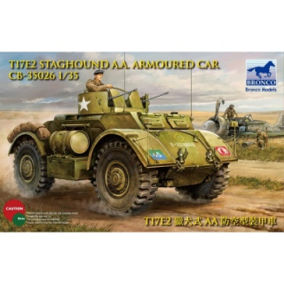 T17E2 Staghound AA Armored Car - Bronco 1/35