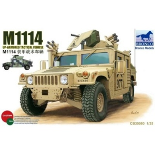 M1114 Up-Armored Tactical Vehicle - Bronco 1/35