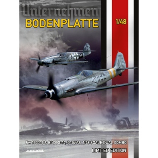 BODENPLATTE - Fw 190D-9 & Bf 109G-14/AS (Dual Combo) - Eduard 1/48