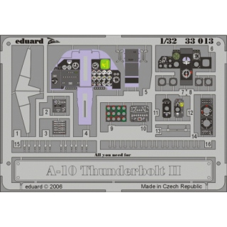 A-10 Thunderbolt II - Dashboard 1/32