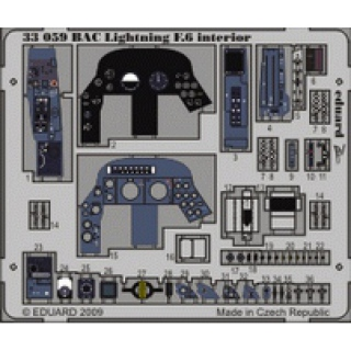 BAC Lightning F.6 - Interior 1/32