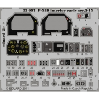 P-51D - Interior (early ser.5-15) 1/32