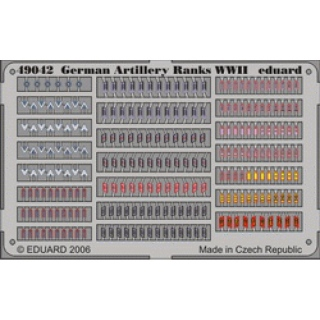 German Artillery Ranks WWII - 1/48