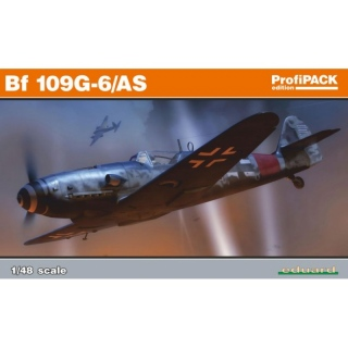 Messerschmitt Bf 109 G-6/AS - Eduard 1/48