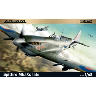 Spitfire Mk.IXc (late Version) - Eduard 1/48