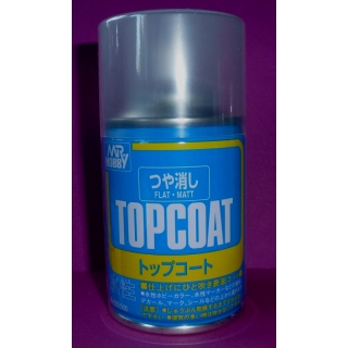 Topcoat Spray, matt