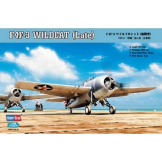 F4F-3 Wildcat (late) - Hobby Boss 1/48