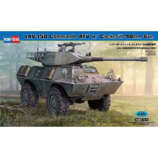 LAV-150 Commando AFV w. Cockerill 90mm Gun - Hobby Boss 1/35