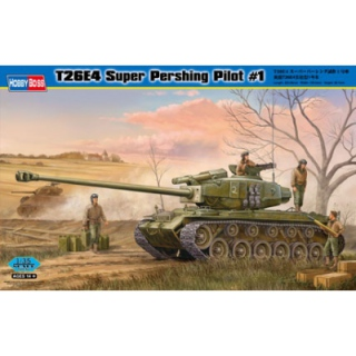 T26E4 Super Pershing Pilot #1 - Hobby Boss 1/35