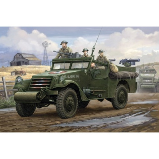 M3A1 White Scout Car (early) - Hobby Boss 1/35