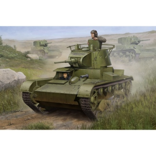 Soviet T-26 Light Infantry Tank (Mod.1938) - Hobby Boss 1/35