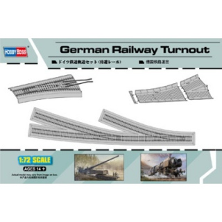 German Railway Curved Track - Hobby Boss 1/72