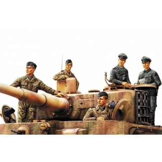 German Panzer Tank Crew (Normandy 1944) - Hobby Boss 1/35