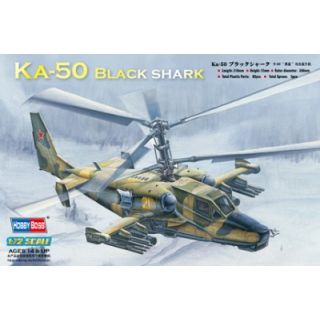 Kamov Ka-50 Black Shark - Hobby Boss 1/72