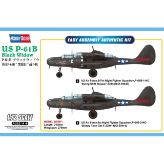 US P-61B Black Widow - Hobby Boss 1/72