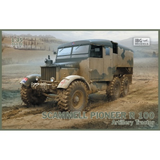 Scammell Pioneer R100 Artillery Tractor - IBG 1/35