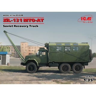 ZiL-131 MTO-AT (Soviet Recovery Truck) - ICM 1/35