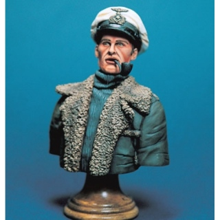 German U-Boot Captain Bust - Legend 200mm