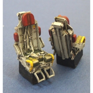F-100 Seats Set w. Belt (2) - Legend 1/48