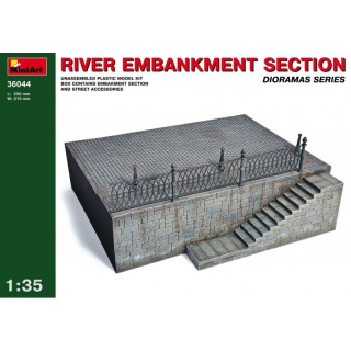 River Embankment Section - MiniArt 1/35