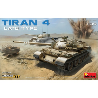 Tiran 4 Late Type (Interior Kit) - MiniArt 1/35