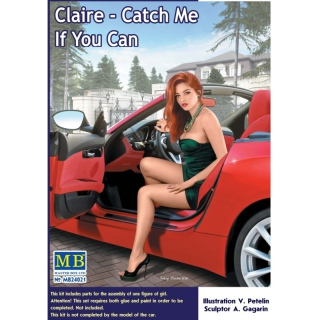 Dangerous Curves Series. Claire - Catch Me If You Can - Master Box 1/24